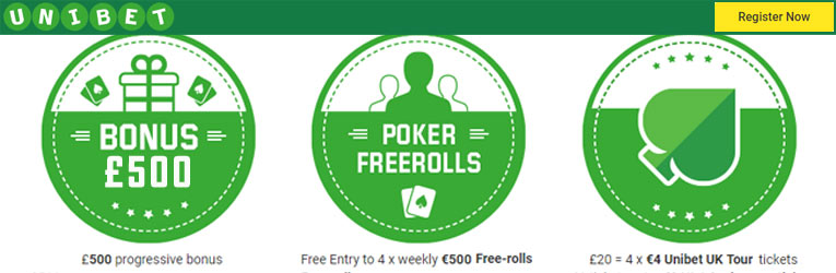 unibet freeroll poker